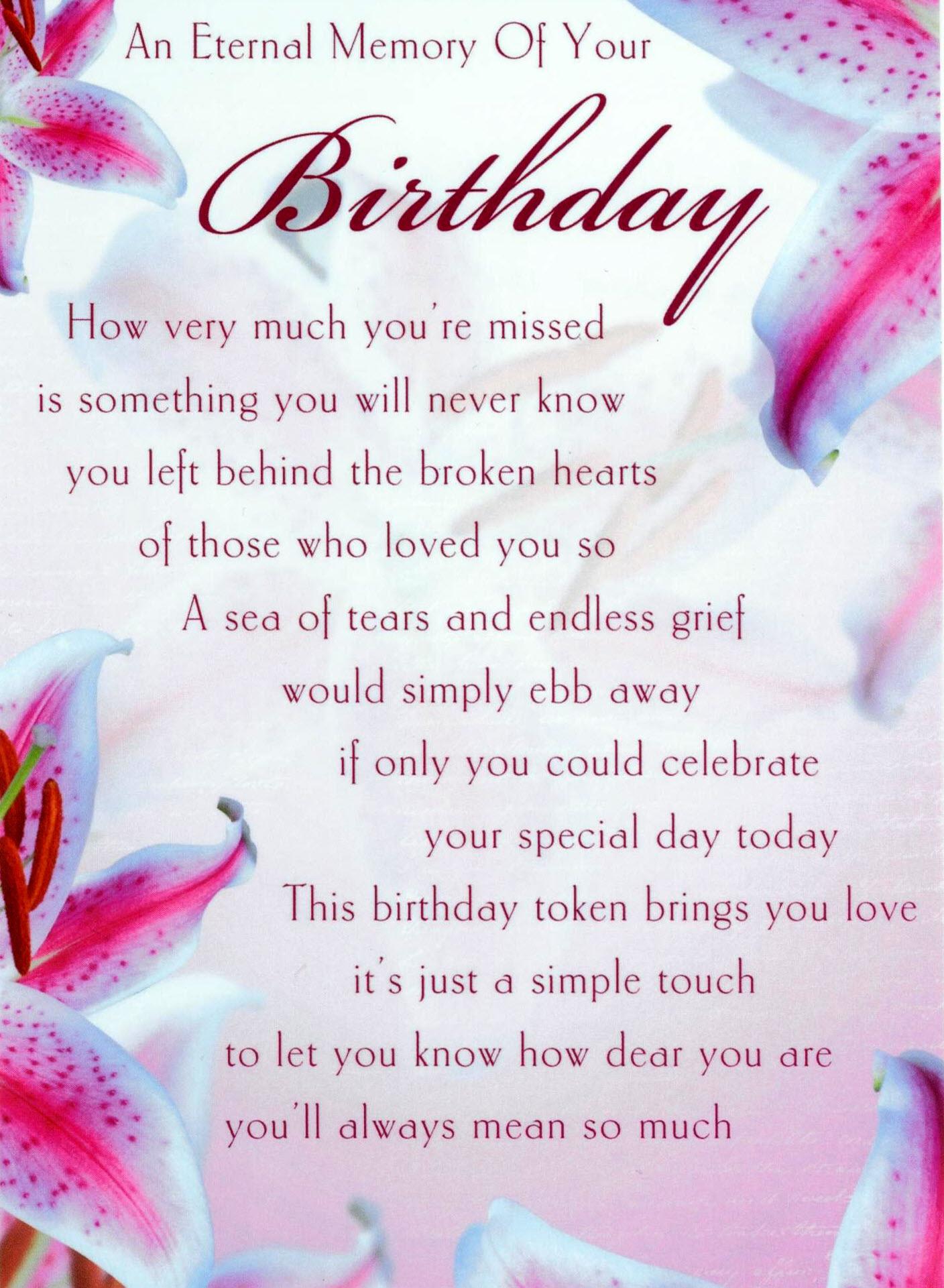 birthday son love and miss you always mum and dad xxxx happy birthday ...